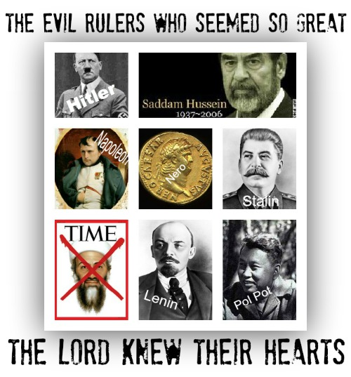 evil rulers, villains of history, Tyrants