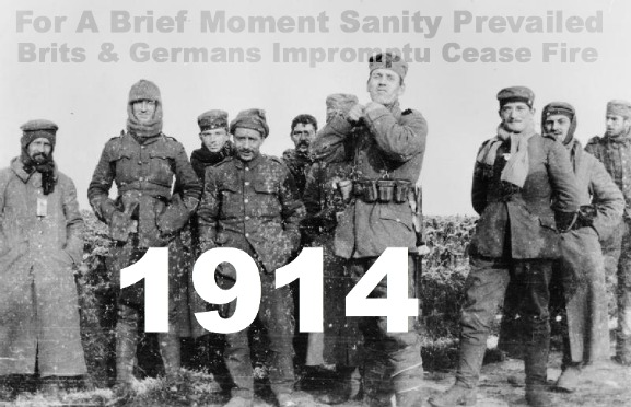 The Christmas Miracle, WW1, English & German Troops, Truce