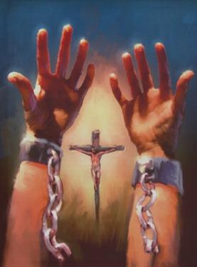 Jesus frees, set free, Jesus saves