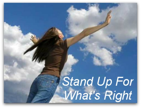 stand up for what's right, courage quote