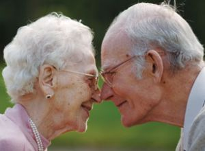 older couple, aging with grace, sweet retired couple