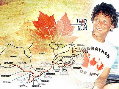 terry fox, marathon of hope