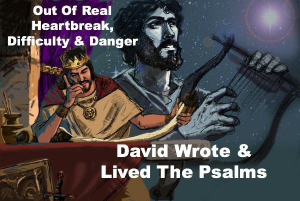 King David, Quote, Psalms, overcome