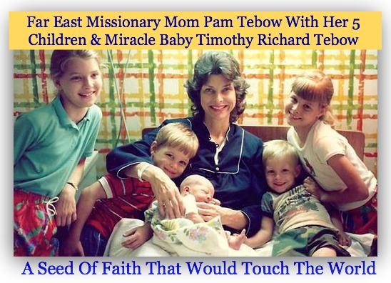 pam tebow, tim tebow and family, quote