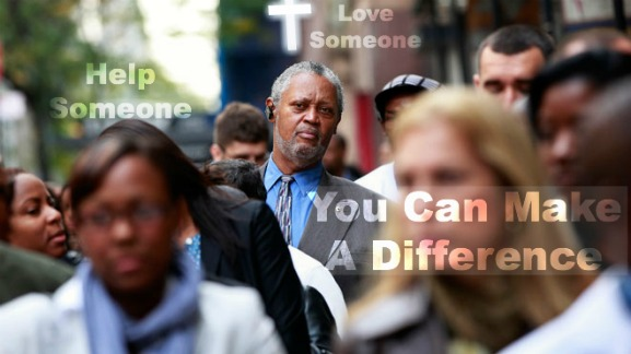 make a difference, helping others