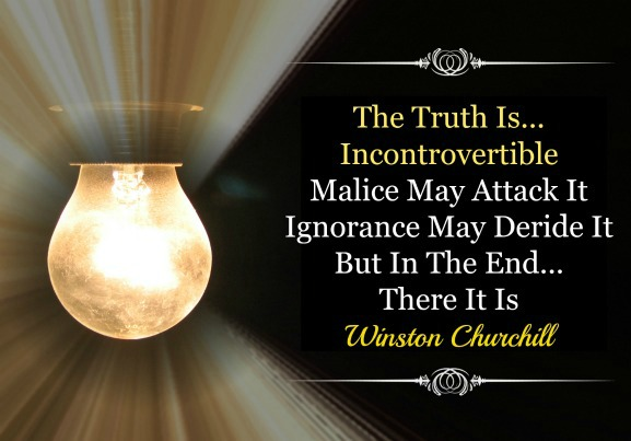 Truth quote, Winston Churchill quote