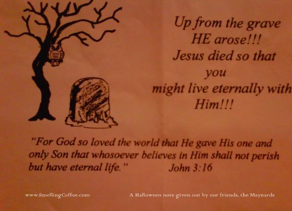 jesus ween, Bible tract, witnessing