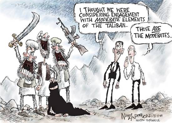 TALIBAN CARTOON, OBAMA AND ISLAM