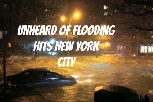 flooding in new york city