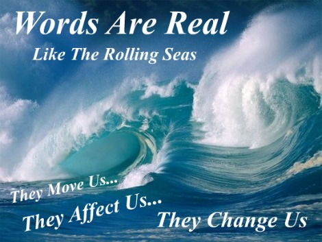 Words are real