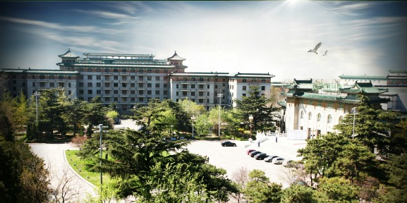 friendship hotel, Youyi Bingwan, Beijing, compound, inside