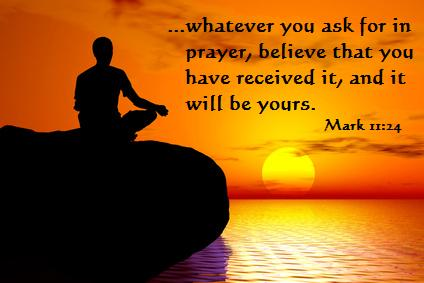 Believe when you Pray, Prayer Quote, Prayer, Christian