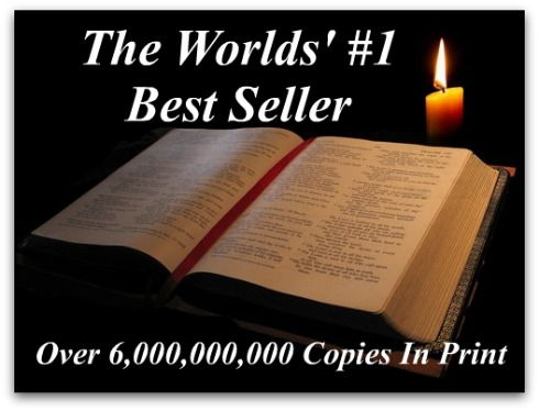Bible is the best seller, Most published book in the world