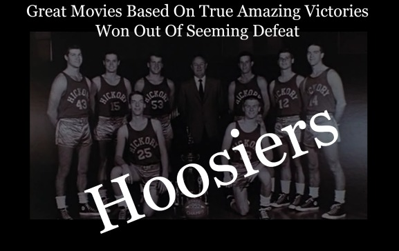 victory from seeming defeat, Hoosiers