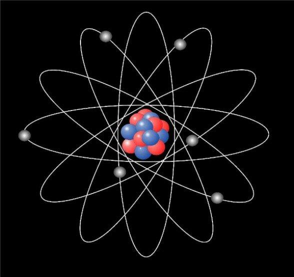 atomic particle. atom