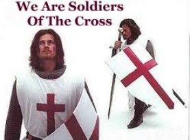 Soldier of the cross, knight, christian