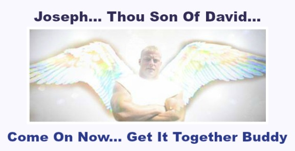 Angel Visits Joseph In A Dream