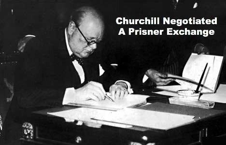 Winston Churchill, negotiate