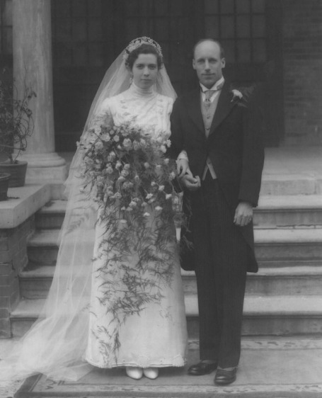 Eric Liddell, Florence Mackenzie, Wedding Picture