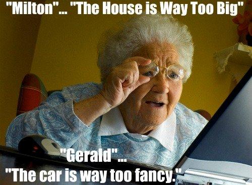 funny christian joke, grandma, parrot
