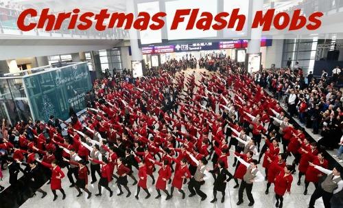 Christmas Flash Mobs