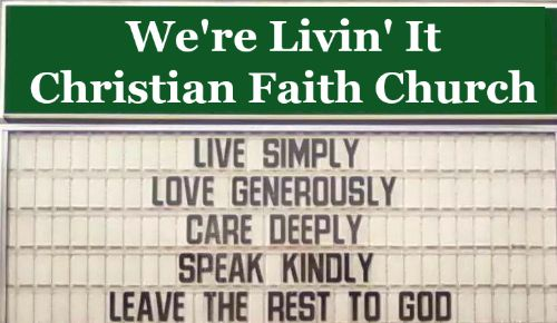 Funny Church Sign, funny christian picture