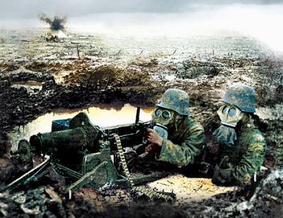 Horror of War, WW 1, gas attack