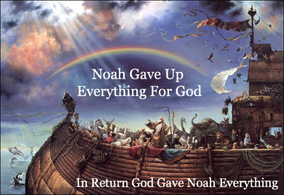 noah quote, giving