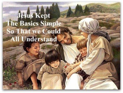 Jesus, simple, understandable