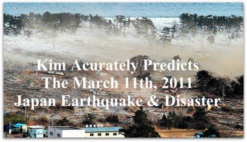 Japan Tsunami, Prediction, Kim clement, Kim Clement Quote