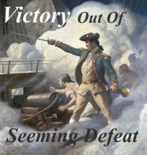 John Paul Jones, victory out of seeming defeat
