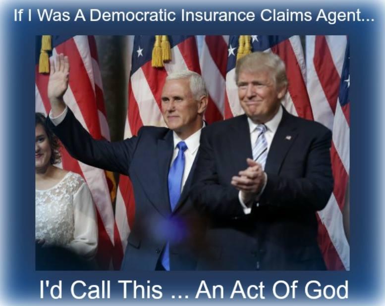Donald Trump. An Act Of God