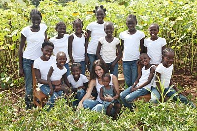 katie davis and her adopted children
