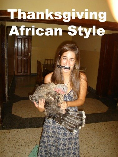 thanksgiving african style, funny thanksgiving, katie davis