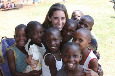 katie davis holding children, amazima mission, africa