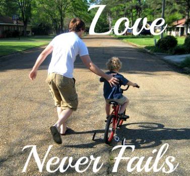 love never fails, 1 Cor 13