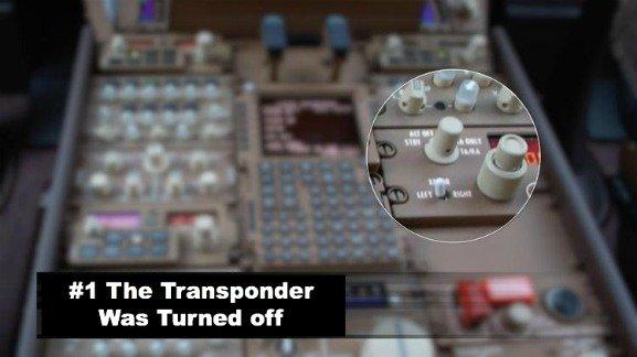 Transponder turn off