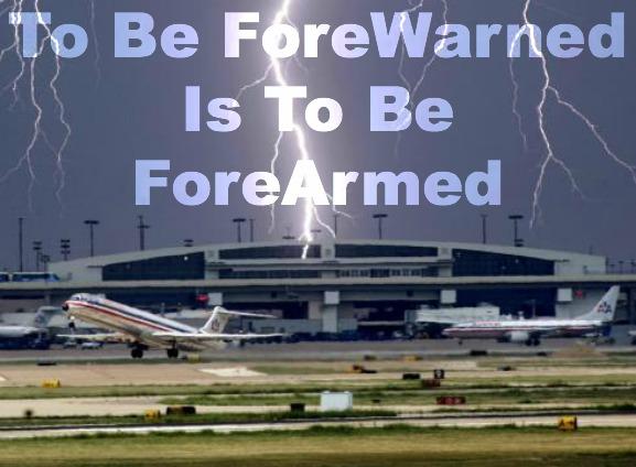 ForeWarned Is ForeArmed
