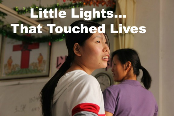 home church, china, christmas party