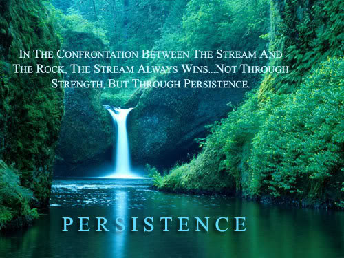 Persistence, Quote