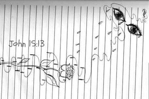 Rachel Scott, Rachel's Tears, Drawing