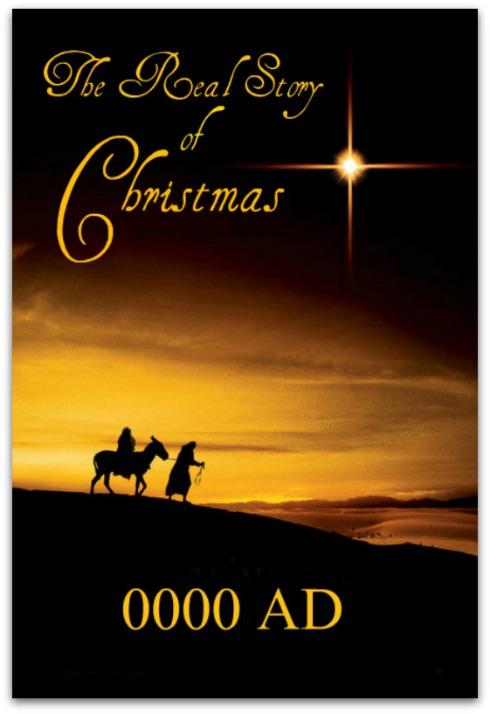 the real story of christmas, nativity, jesus birth