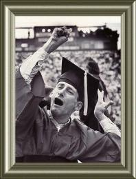 Rick Hoyt Graduation