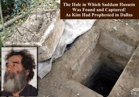 Saddam Hussein, Kim Clement, Prophesy, Capture