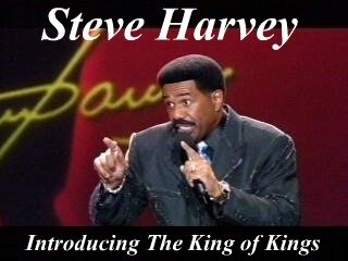 Steve Harvey, Comedian, Introducing Christ,