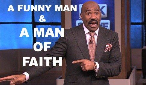 Steve Harvey, Comedian, Christian, Man Of Faith