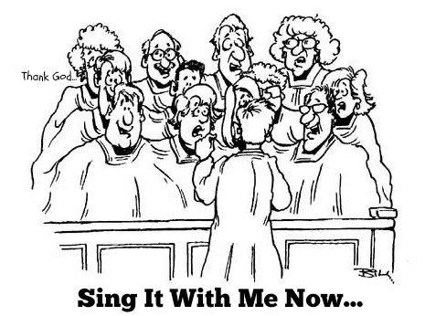 funny christian story, Sing With Me Now