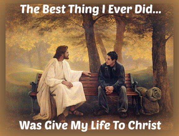 Giving Your Life To Christ