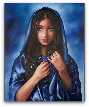 Painting Akiane, Innocense, Child prodigy, christian Art