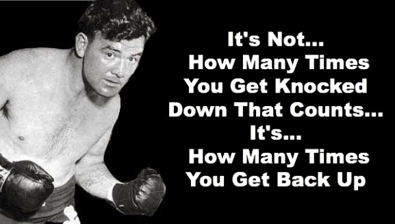 james Braddock quote, fighter quote